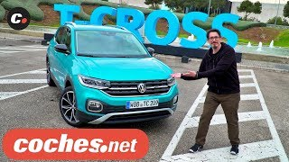 Volkswagen T-Cross 2019 SUV | Primera prueba / Test / Review en español | coches.net