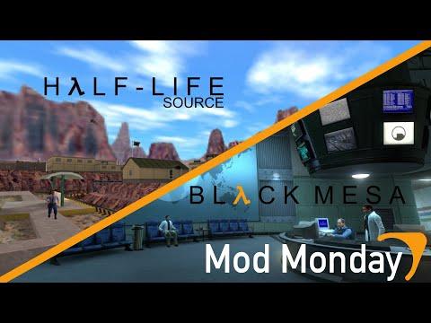 (Mod Monday) Source Mounting: Half-Life Source Mounted onto Black Mesa (видео)