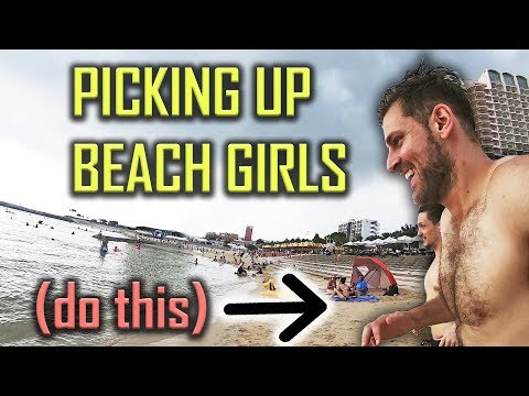 How to Pick Up Girls at the Beach   4 Easy Tips