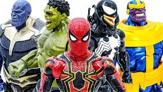Video Avengers Toys Playing Together - Thanos Appeared~ Go Go Go~ Let's Defeat Thanos #Toymarvel MP3, 3GP, MP4, WEBM, AVI, FLV Maret 2019