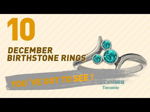 December Birthstone Rings Top 10 Collection // UK New & Popular 2017