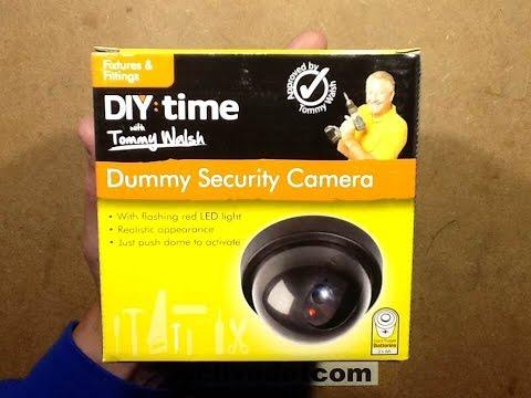 Poundland dummy CCTV camera.