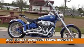 9. Used 2008 Harley Davidson FXCWC Rocker C Motorcycles for sale