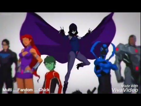 Justice League Vs. Teen Titans Amv