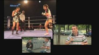 Lingolsheim France  city photo : Boxe féminine: Nadya Hokmi déterminée! (Lingolsheim)