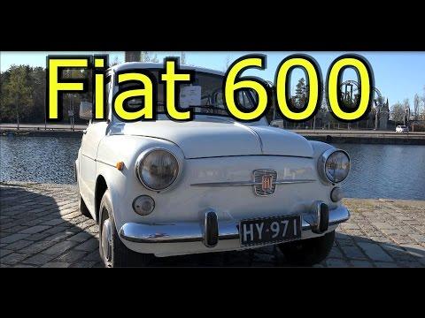 Фят 600- Олд классик кар 1970