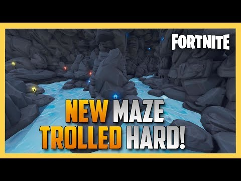 New! TROLL Maze from JeffVH - Fortnite Creative Code Inside! | Swiftor видео