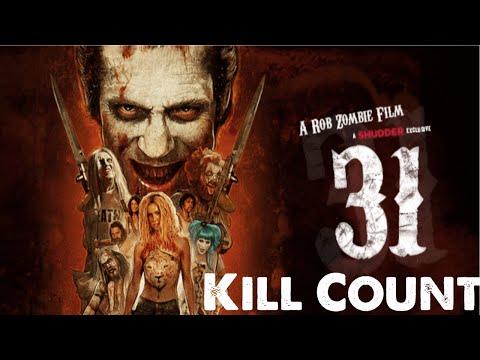 Rob Zombie's 31 (2016) Kill Count