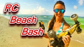 Beach Babe Buggy Bash - Arrma Raider RC Buggy At Panama City