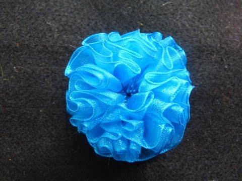 Manualidades y accesorios la hormiga. como hacer una flor en citas. video No.102
