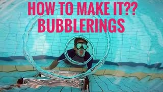 how to make it? - Underwater bubble rings