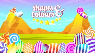 Toddlers Learn Shapes & Colors YouTube video