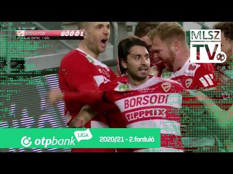 Asmir Suljić gólja (FTC - DVTK, 2. forduló)