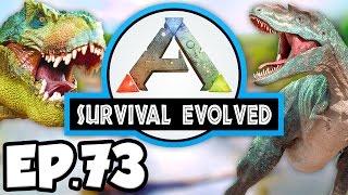 ARK: Survival Evolved Ep.73 - 2 POISON BA DINOSAURS BATTLE!!! (Modded Dinosaurs Gameplay)