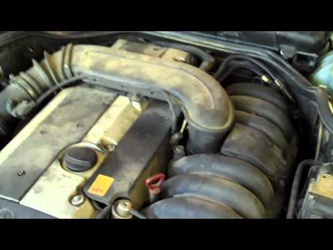 Replace Camshaft position sensor on Mercedes 1997 E320