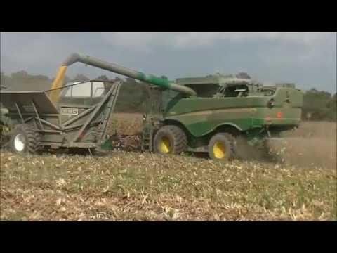 MURRAY FARMS CORN HARVEST 2014 Part 4