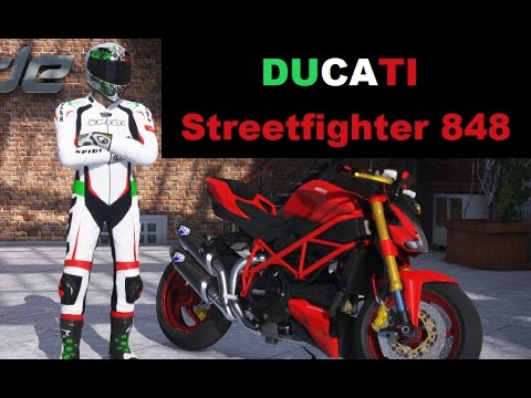 RIDE2 - DUCATI  Streetfighter  848  (NAKED BIKE)  Gameplay 1080p