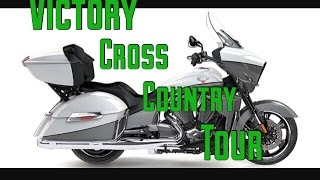 5. Victory cross country tour/test ride