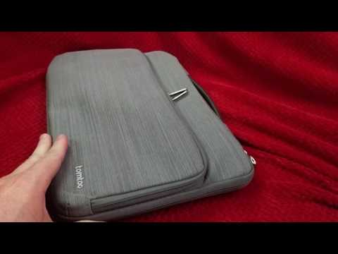 Tomtoc 11.6 - 12 inch Chromebook Briefcase/Sleeve review