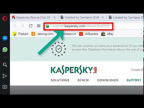 How to Create Kaspersky Rescue Disk  - Bootable USB