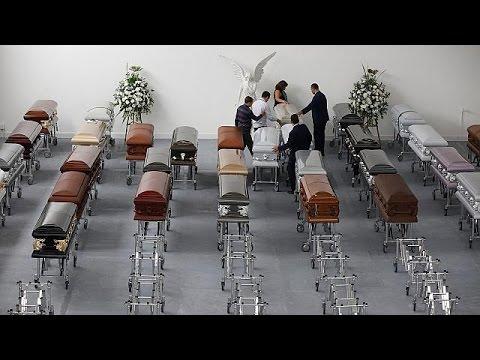 Βραζιλία: Στο στάδιο της Σαπεκοένσε το τελευταίο αντίο στα θύματα της αεροπορικής τραγωδίας στην…