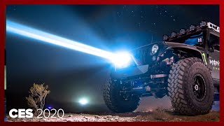 WOW! The Baja Designs laser lights turn night into day for extreme off-roading by Roadshow
