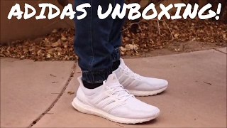 Today Teej will be unboxing a pair of all white Adidas Ultra boost. I paid $185 shipped from eBay. I will also be doing a cleaning sometime soon so be on the lookout for that video!Thanks for watching! Please like, comment, and subscribe for more content every THURSDAY!