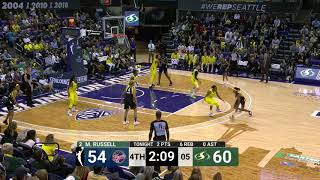 Seattle's Top Buckets Down the Stretch vs. Indiana by WNBA