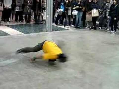 Japanese Breakdancers at Design Festa, Tokyo, 11/18/2007