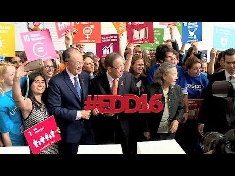 Ο Γ.Γ. του ΟΗΕ Μπαν Κι Μουν στις «Ευρωπαϊκές Ημέρες Ανάπτυξης»