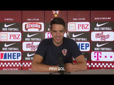 Josip Brekalo uoči utakmica s Portugalom i Francuskom