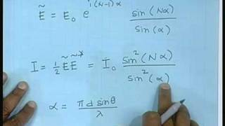 Lecture - 22  Diffraction - III