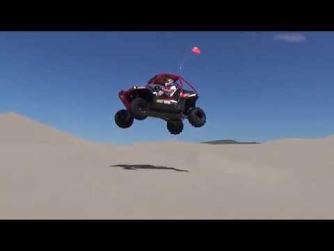 Polaris RZR 900 turbo monster jump