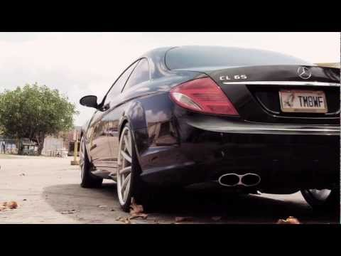 Mercedes Benz CL65 AMG on 22