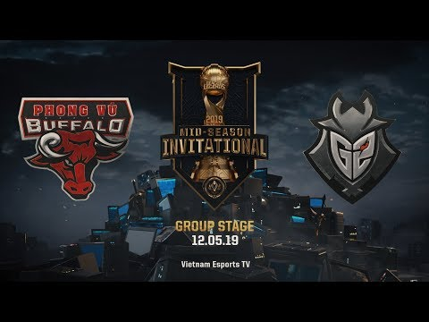 PVB vs G2 [HighLights MSI 2019] [12.05.2019] [Group Stage] - Thời lượng: 7:59.