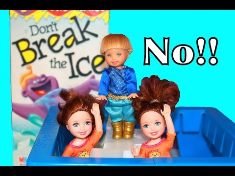 toys - Disney Princess Anna's Kids Play Frozen Don't Break The Ice! Disney Queen Elsa gives Frozen Amber & Annabelle Don't Break The Ice. Frozen Elsa even uses her Frozen powers to make ice for the...