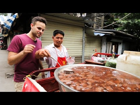 Chinese Street Food Tour Around China  Most Unique Chinese Street Food of 2016