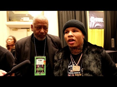 GERVONTA DAVIS TALKS ABOUT LOMACHENKO FIGHT ANNOUNCEMENT BY FLOYD MAYWEATHER