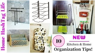 10 NEW Kitchen - Home Organization Tips & Ideas | How To Organize Kitchen & Home