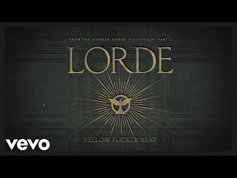 Lorde - Yellow Flicker Beat tekst piosenki