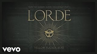 Thumbnail for Lorde — Yellow Flicker Beat