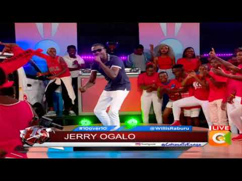 Check Out Jerry Ogalo Performing Brand New Track Live On Stage #10Over10