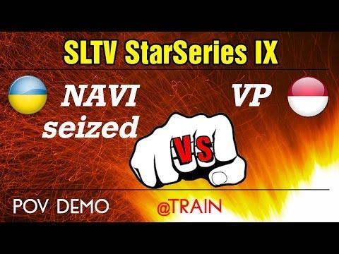 Na`Vi seized vs. Virtus.Pro @train (POV) // SLTV StarSeries IX