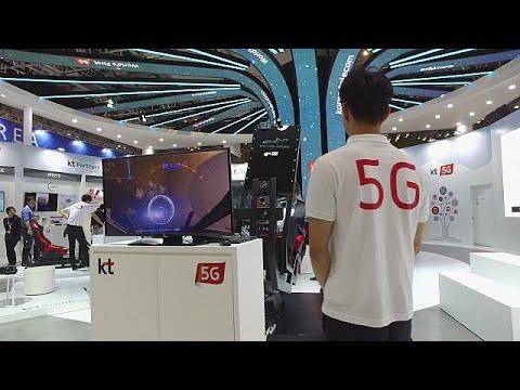 Δίκτυα 5G και έξυπνες πόλεις στην έκθεση Telecom World στη Νότια Κορέα