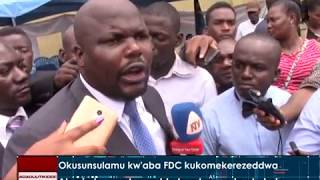 Abesimbyewo bawadde bye bagenda okukola. Don't forget to subscribe For more news visit: http://bukedde.co.ug/ Follow us on ...