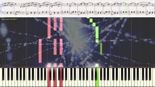 Вальс (Маскарад) - А. Хачатурян (лёгкий фрагмент) (Ноты и Видеоурок для фортепиано) (piano cover)