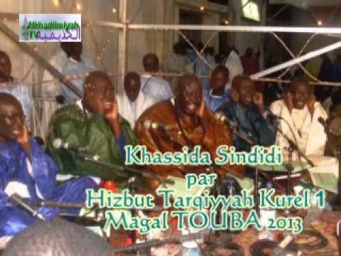 Khassida:  - Khassida Sindidi chant par Hizbut-Tarqiyyah (Kurel 1 ) lors du Magal de Touba 2013.