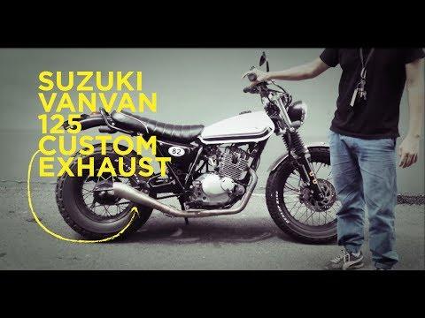 Suzuki vanvan 125 custom exhaust