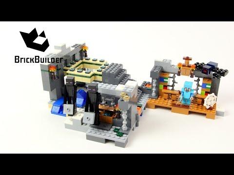 Vidéo LEGO Minecraft 21124 : Le portail de l'air
