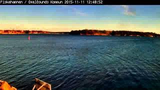 2015-11-11 Fiskehamnen Oxelösund Time-lapse